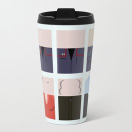 Enterprise NX-01 Crew minimalist - Star Trek Enterprise ENT- Trektangle startrek - Trektangles  Travel Mug
