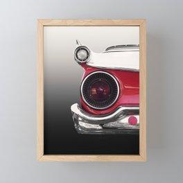 US American classic car 1959 fair lane 500 galaxie  Framed Mini Art Print