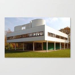 Villa Savoye - Le Corbusier Canvas Print