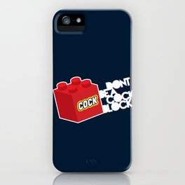 The Dreaded Cock Block iPhone Case