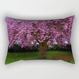 colourful flowerage Rectangular Pillow
