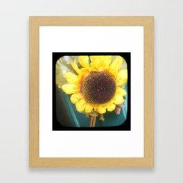 Yellow TTV Framed Art Print