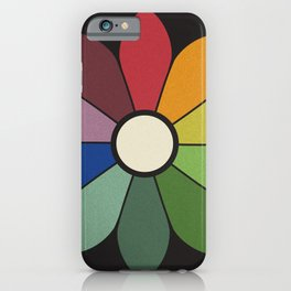 James Ward's Chromatic Circle iPhone Case