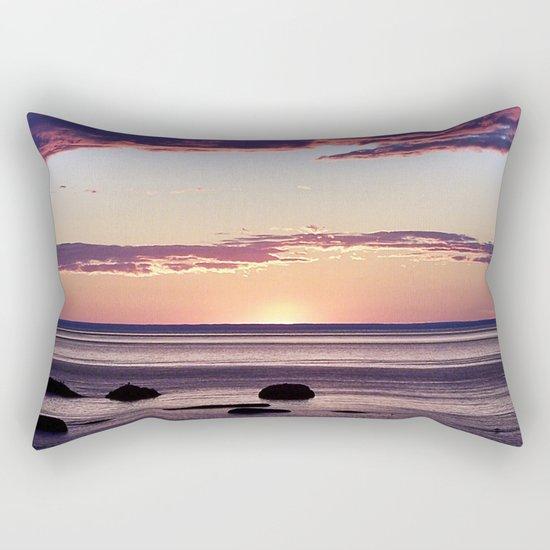 Under the Storm Rectangular Pillow