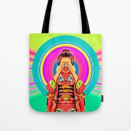 my geishas eyes are silent Tote Bag