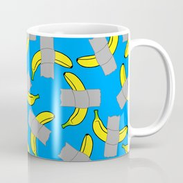 taped banana art Coffee Mug