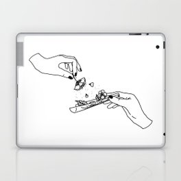 How to roll up your sadness? Laptop & iPad Skin