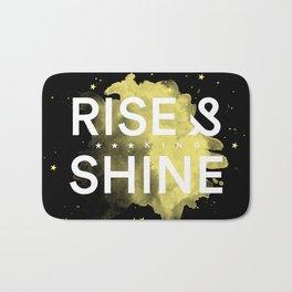 Rise Up & Fucking Shine Bath Mat