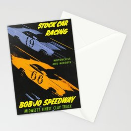 Motors And Midgets Stationery Cards