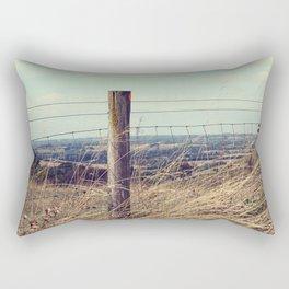 High on the Hill Rectangular Pillow