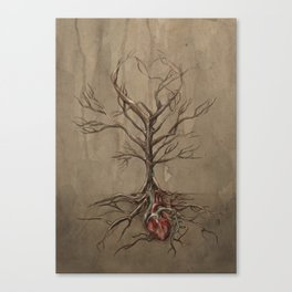 [Buried] Canvas Print