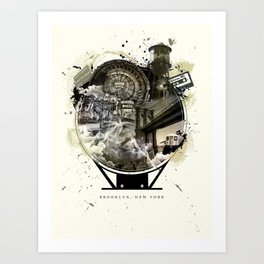 The Essence of Brooklyn Art Print