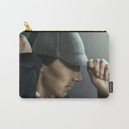 Sherlock and his deerstalker Carry-All Pouch