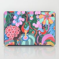house iPad Cases featuring Hidden House by Valeriya Volkova