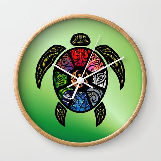 Bagua Turtle Wall Clock