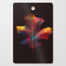 Rainbow Leaf Cutting Board