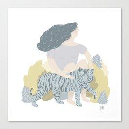 Garra Canvas Print