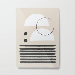 Abstract Modern Art Metal Print