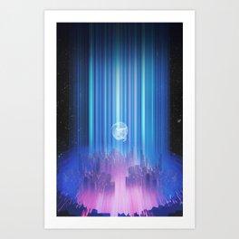 Celestial Light Art Print