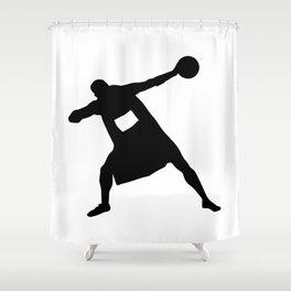 #TheJumpmanSeries, Usain Bolt Shower Curtain