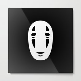 Minimal Cinema - Kaonashi/Spirited Away Metal Print
