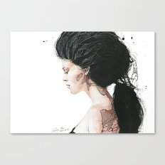 Torn to shreds Canvas Print