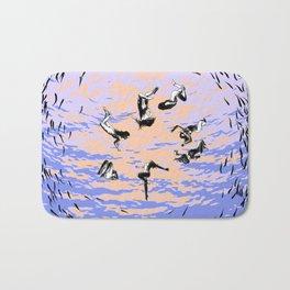 asc 867 - Les chants de l'aube (Hole in the sky) Bath Mat