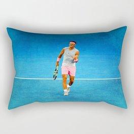 Rafael Nadal Fist Pump Rectangular Pillow