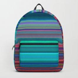Blurry Saturn Stripes Backpack