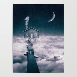 Living On The Clouds Poster