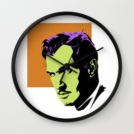 Vincent Price (Colour) Wall Clock