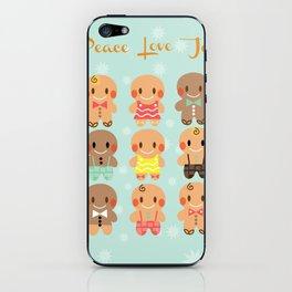 Gingerbread Love iPhone Skin