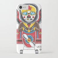 airplane iPhone & iPod Cases featuring Airplane by @VEIGATATTOOER
