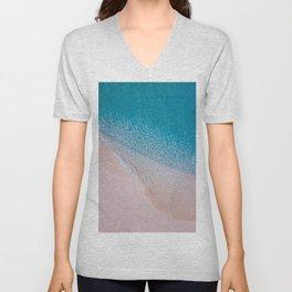 Beautiful Turquoise Ocean Unisex V-Neck