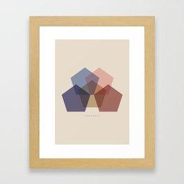 Rose Five Framed Art Print
