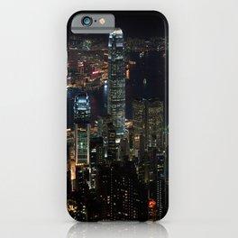 Hong Kong By Night iPhone Case