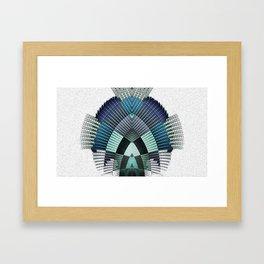 Ancestor Temple Weaving Framed Art Print