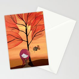 The beauty around us Stationery Cards