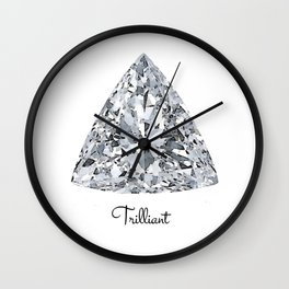Trilliant Wall Clock