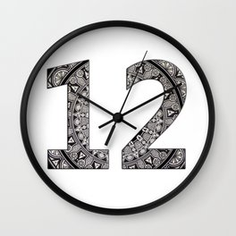 Twelve Wall Clock
