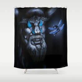 Another Time Shower Curtain