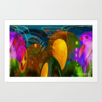 Must to Ovoid Art Print