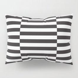 IKEA STOCKHOLM Rug Pattern - black stripe black Pillow Sham
