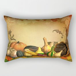 Thanksgiving Harvest Rectangular Pillow