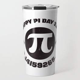 Happy Pi Day 3.14 Math product Travel Mug