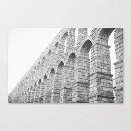 Segovia Spain Aqueduct  Canvas Print