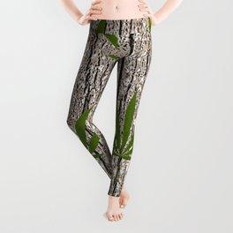 Green Leaf Leggings