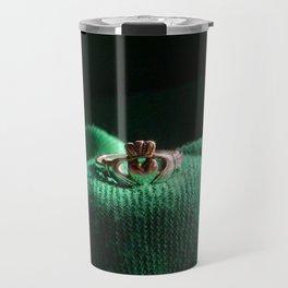 Claddagh Ring Travel Mug