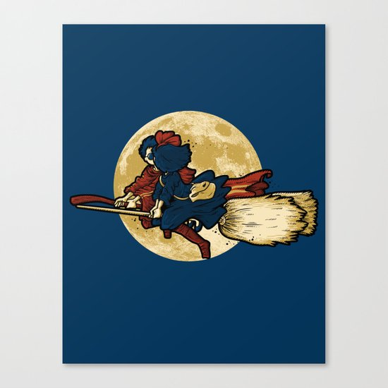 WIZARDS LOVE WITCHES Canvas Print