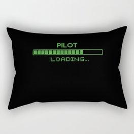 Pilot Loading Rectangular Pillow